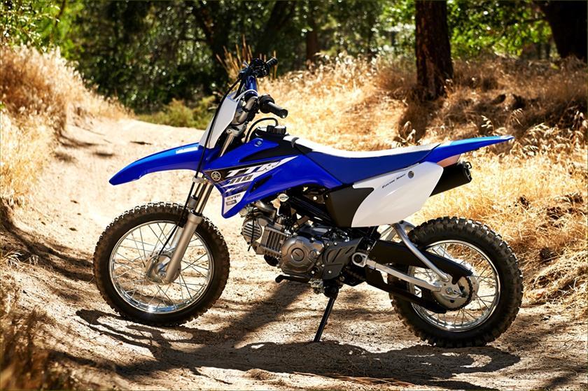 2015 Yamaha TT-R110E Trail Motorcycle - Model Home
