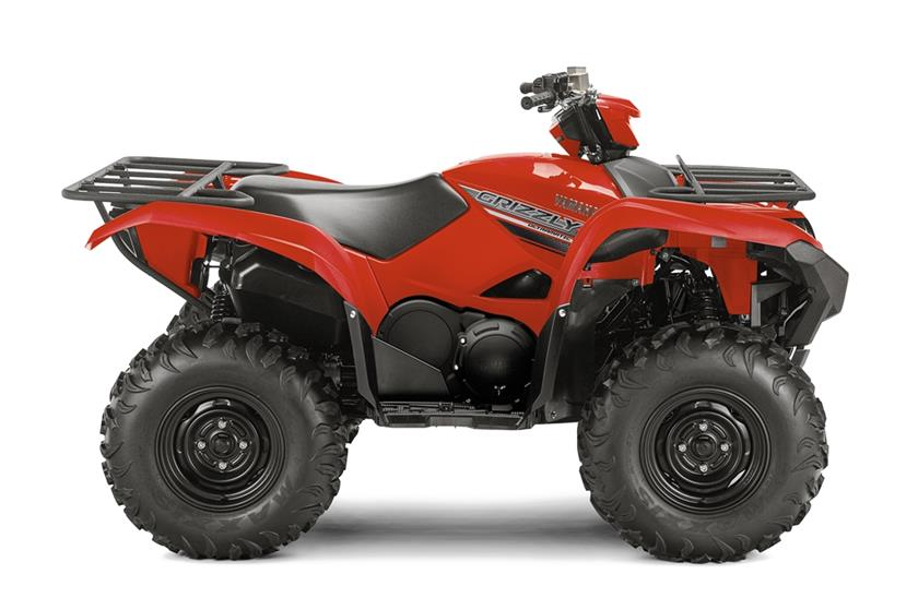2016 Yamaha Grizzly Utility ATV - Model Home