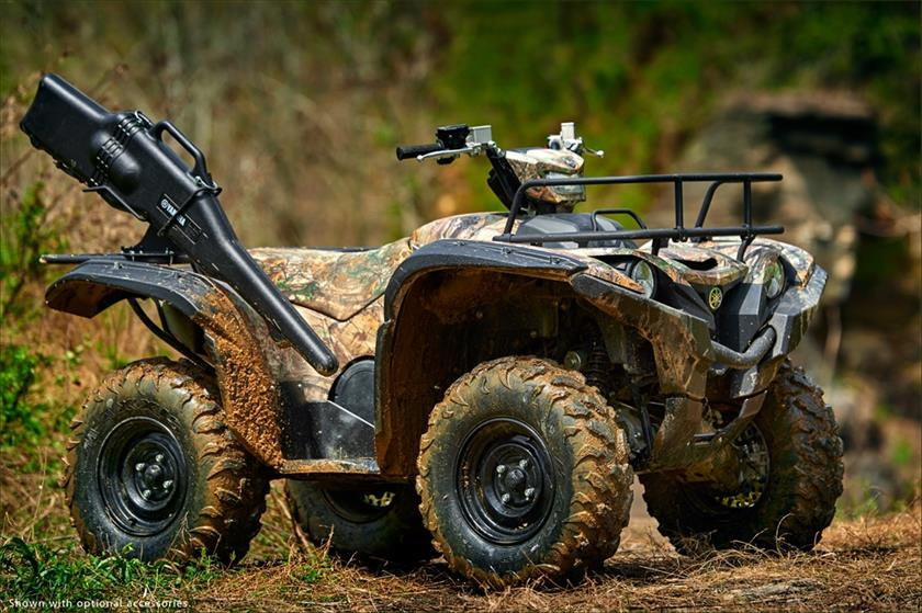 2016 Yamaha Grizzly Utility ATV - Model Home