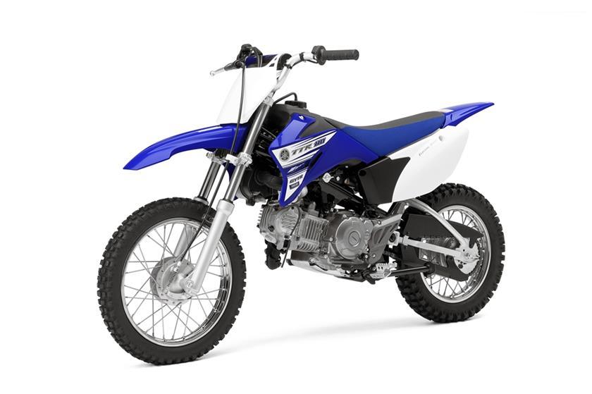 2016 Yamaha TT-R110E Trail Motorcycle - Model Home
