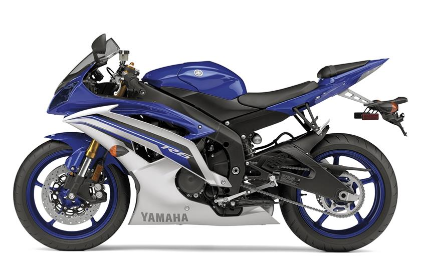 2016 Yamaha YZF R6 Supersport Motorcycle
