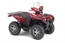 2017 Yamaha Grizzly EPS LE - Studio Red