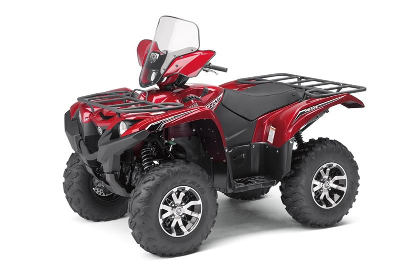 2017 Yamaha Grizzly Eps Le Studio Red