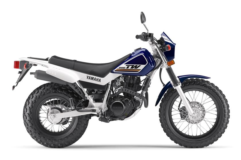 2017 Yamaha Tw200 Dual Sport Motorcycle Photo Picture