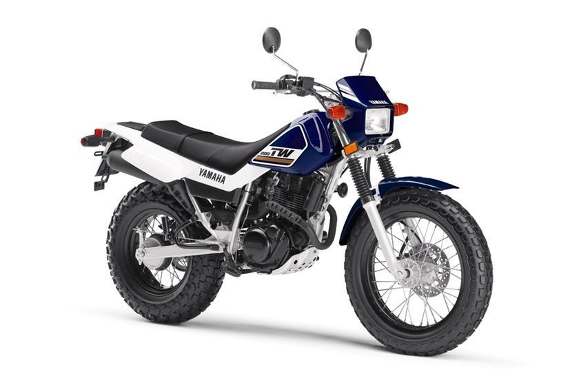 2017 Yamaha TW200 Dual Sport Motorcycle