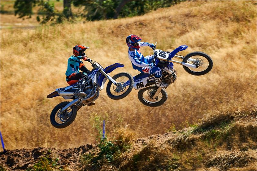 2017 Yamaha YZ450F Motocross Motorcycle - Model Home