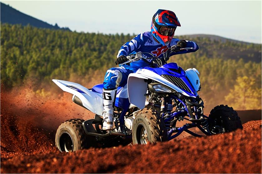 2017 Yamaha Raptor 700r Action Blue