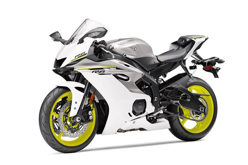 2017 Yamaha YZF R6 Supersport Motorcycle