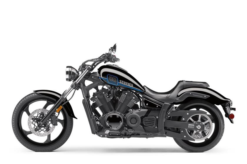 2017 Yamaha Stryker Studio Black