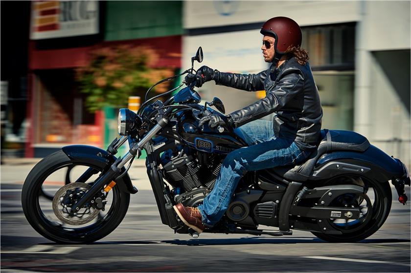 2017 Yamaha Stryker Action Black