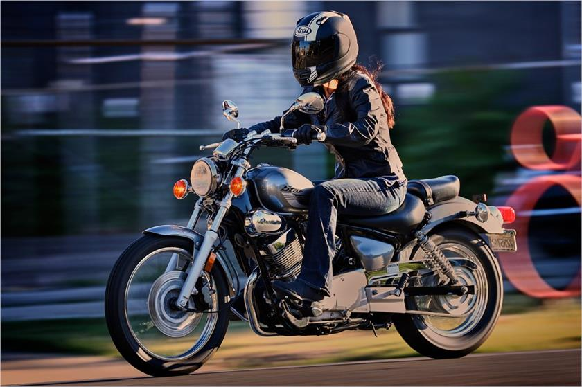 2017 Yamaha V Star 250 Action Silver