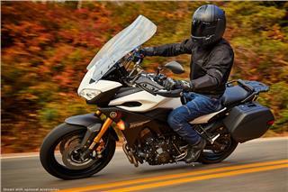 2017 Yamaha FJ-09 - Action White