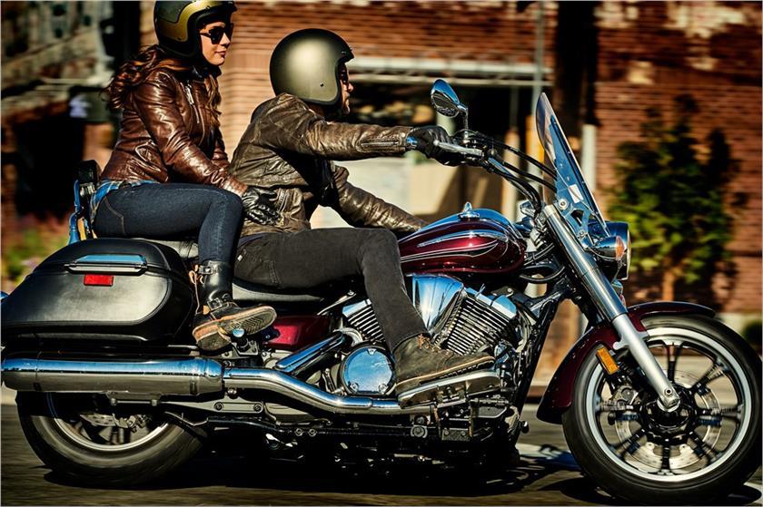 2017 Yamaha V Star 950 Tourer Cruiser Motorcycle - Model Home