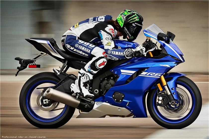 2017 Yamaha YZF R6 Supersport Motorcycle