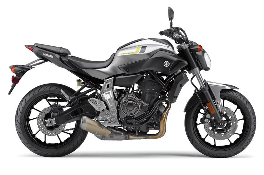 2017 Yamaha Fz 07 Hyper Naked Motorcycle Model Home