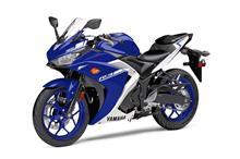 2017 Yamaha YZF-R3 - Studio Blue