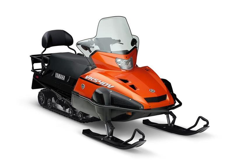 Then & Now: Yamaha's VK540 - Snowmobile.com