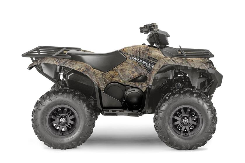 2018 Yamaha Grizzly EPS Utility ATV - Model Home