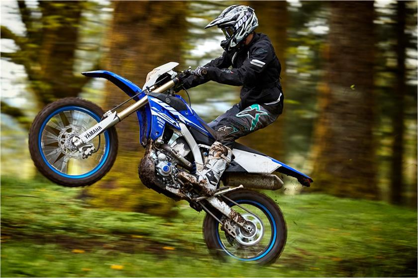 2018 Yamaha Wr450f Cross Country Motorcycle Photo Picture