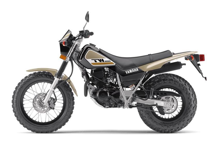 2018 Yamaha TW200 Dual Sport Motorcycle