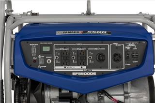 2007 Yamaha EF5500DE/D - Detail Blue