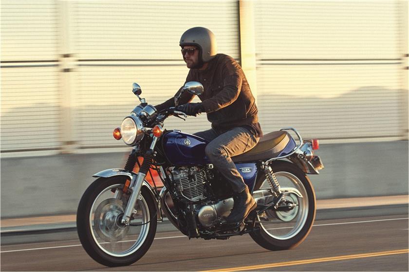 2018 Yamaha Sr400 Sport Heritage Motorcycle Model Home
