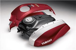 2018 Yamaha XSR700 - Detail Red