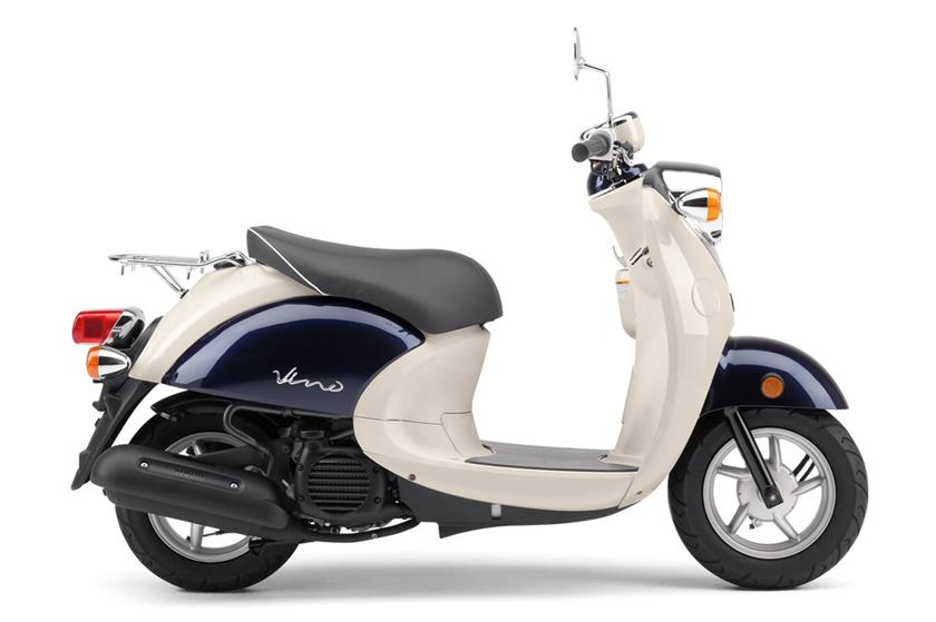 2018 Yamaha Vino Classic Scooter Motorcycle - Model Home