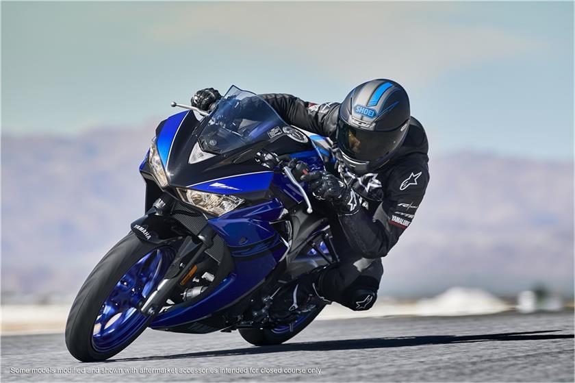 Resultado de imagem para Yamaha R3 2018