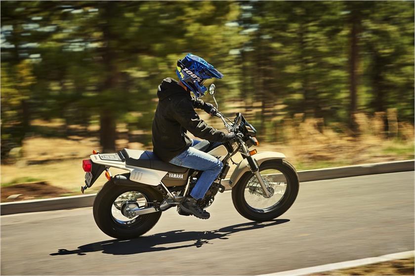 2019 Yamaha TW200 Dual Sport Motorcycle - Model Home