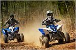 2019 Yamaha Raptor 90 - Action Blue