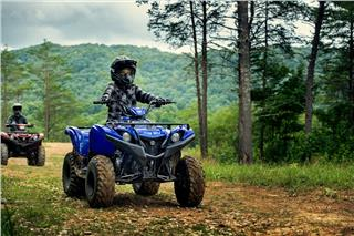 2019 Yamaha Grizzly 90 - Action Blue