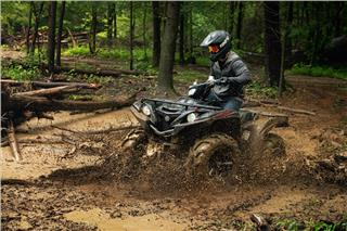 2019 Yamaha Grizzly EPS SE - Action Black